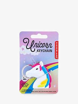 Kikkerland Unicorn LED Keyring