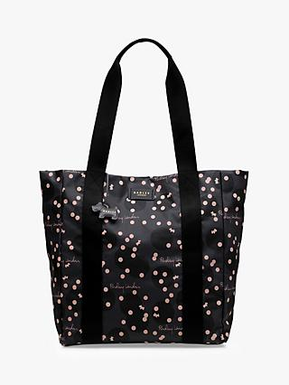 Radley Clouds Hill Large Open Top Tote Bag, Charcoal