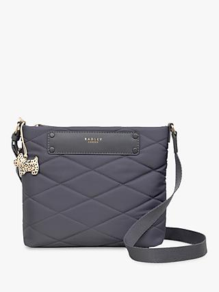 aa33ccab66 Radley Charleston Quilted Fabric Medium Cross Body Bag