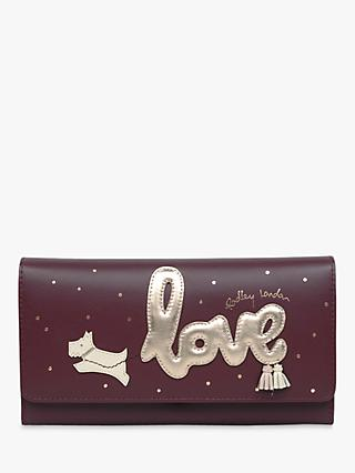 Radley Love Is In The Air Leather Flapover Matinee Purse