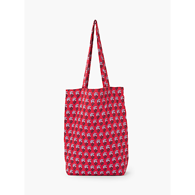 People Tree V&A Shopping Bag, Red