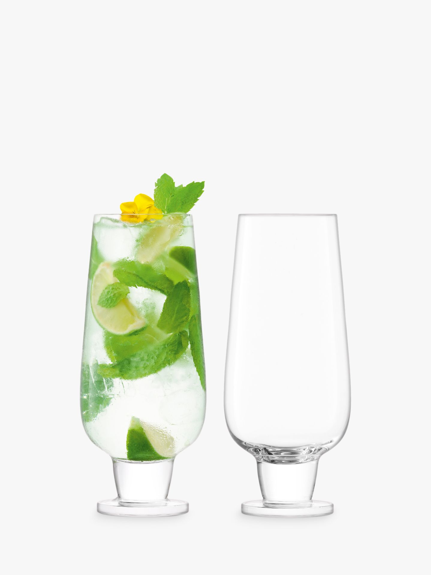 LSA International LSA International Rum Mixer Glass, 550ml, Set of 2, Clear