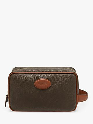 Mulberry Scotchgrain Wash Bag