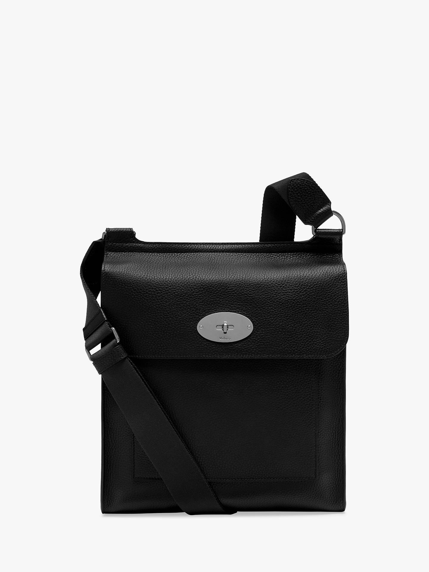 295f0984de90 BuyMulberry New Antony Grain Veg Tanned Leather Messenger Bag