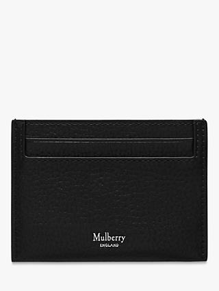 Mulberry Grain Veg Tanned Leather Credit Card Slip