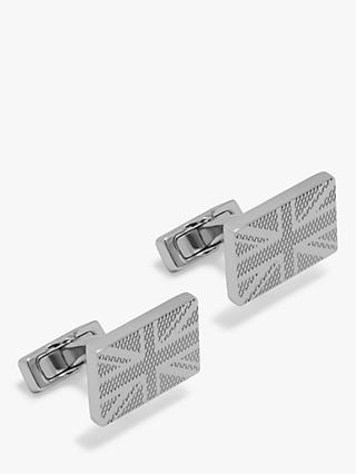 Mulberry Rectangular Flag Cufflinks