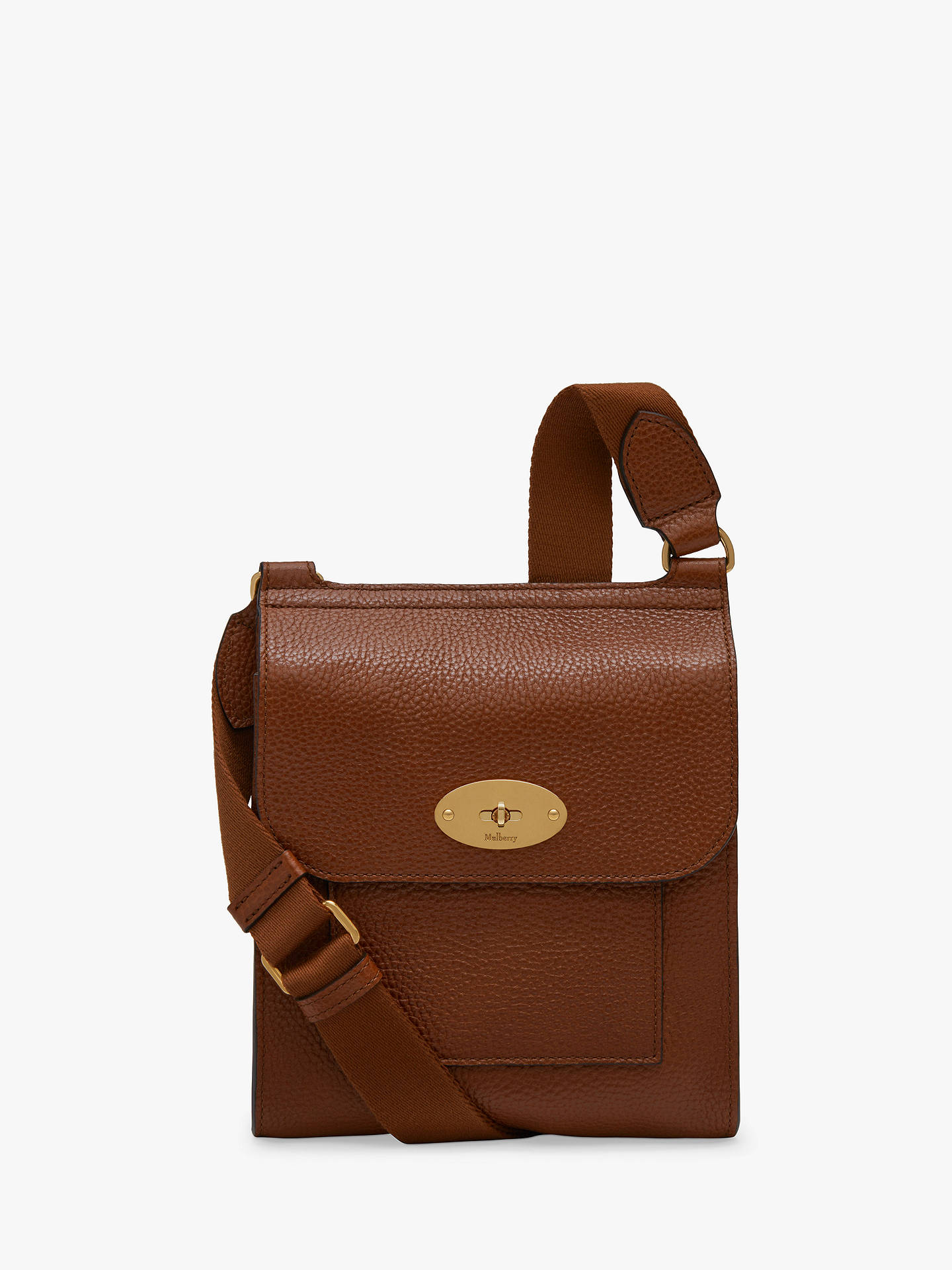 Mulberry Small Antony Grain Veg Tanned Leather Satchel at John Lewis ... 4524ac047d520