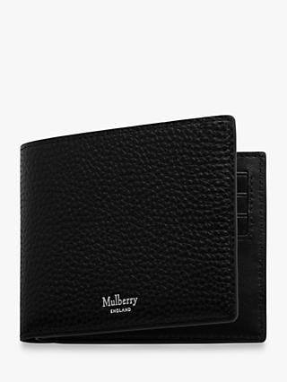 Mulberry Eight Card Grain Veg Tanned Leather Wallet