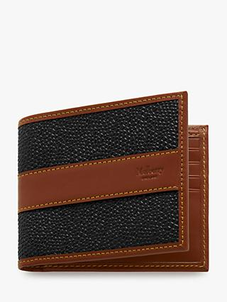 d097a763b5b7 Mulberry Eight Card Scotchgrain Wallet