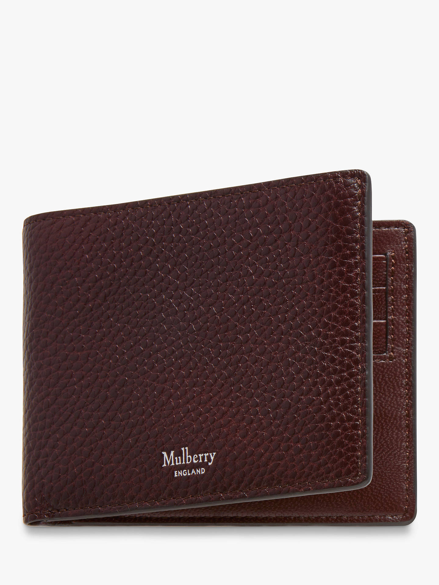 877d544b6469 Buy Mulberry 8 Card Grain Veg Tanned Leather Wallet
