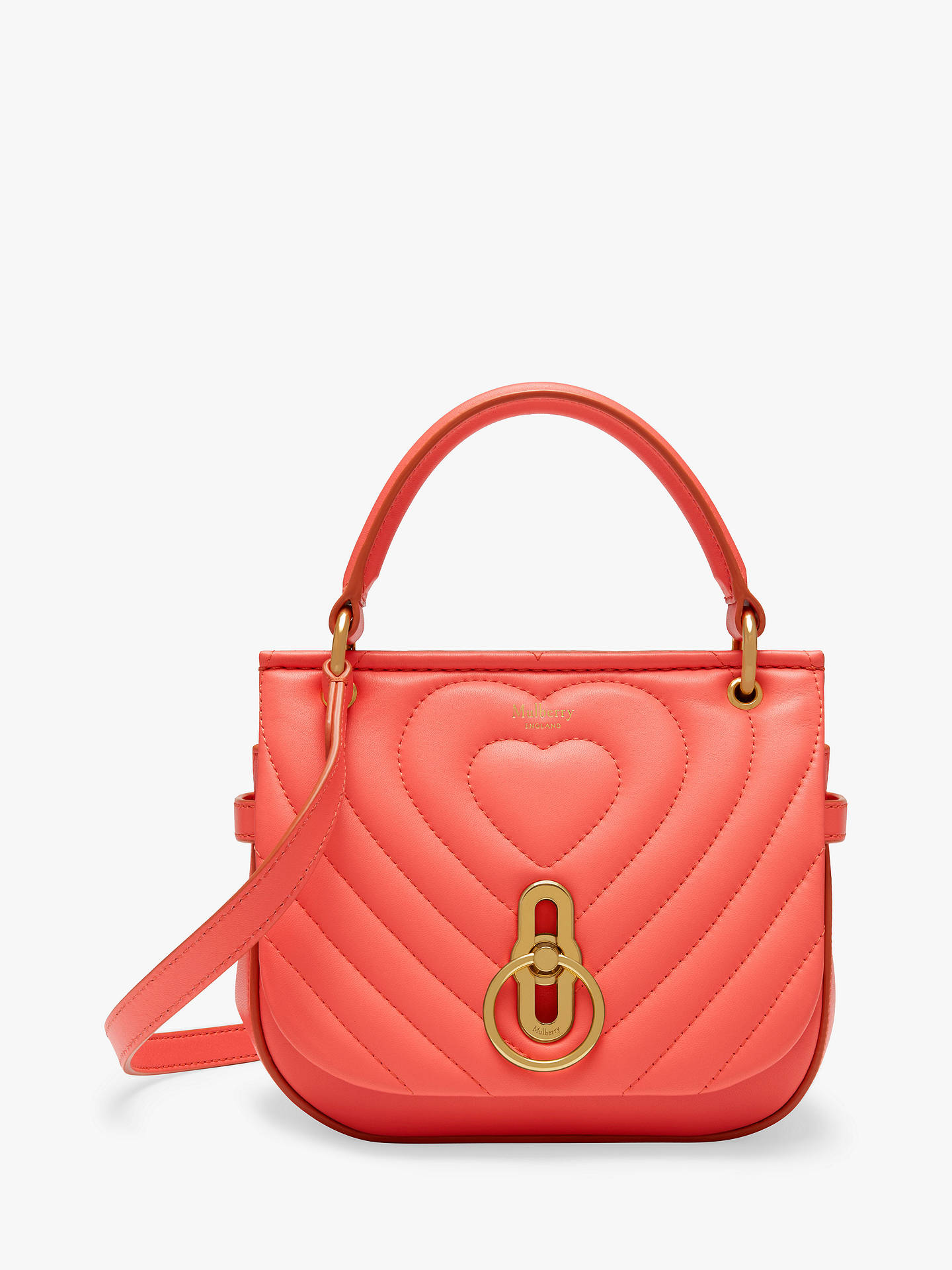 9d9171377495 Buy Mulberry Amberley Quilted Heart Nappa Leather Satchel