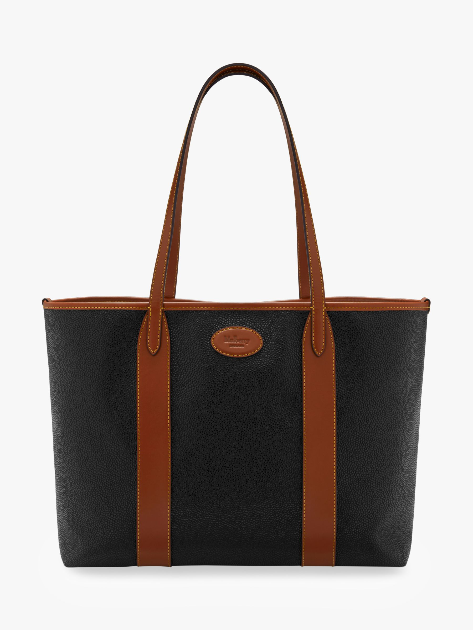6f346cab326 Mulberry Bayswater Scotchgrain Tote Bag at John Lewis   Partners