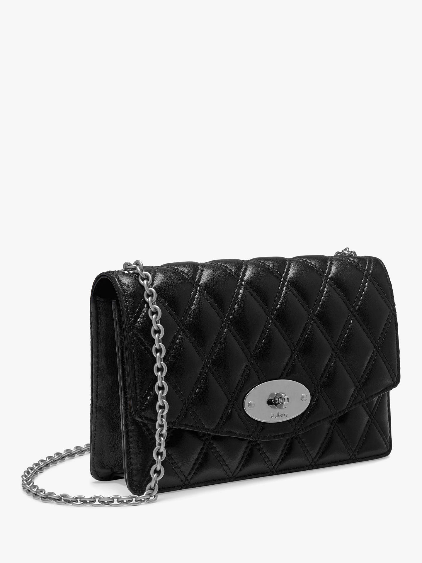 f89f4604f5 Buy Mulberry Small Darley Quilted Smooth Calf Chain Clutch Bag