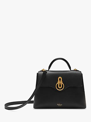 de84939aaae Mulberry Mini Seaton Classic Grain Leather Shoulder Bag