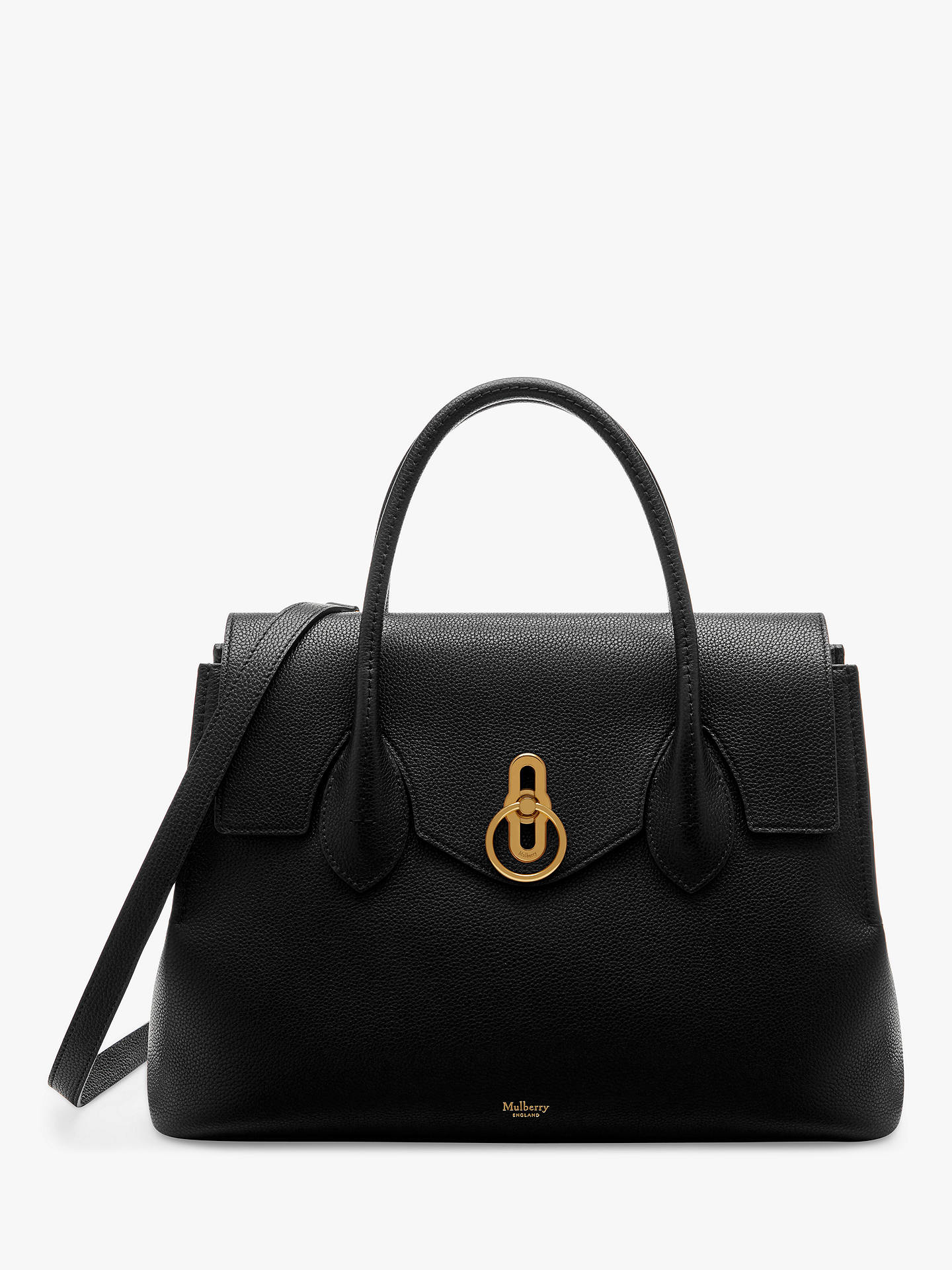 Mulberry Seaton Classic Grain Leather Handbag at John Lewis   Partners a5ff6ad427635
