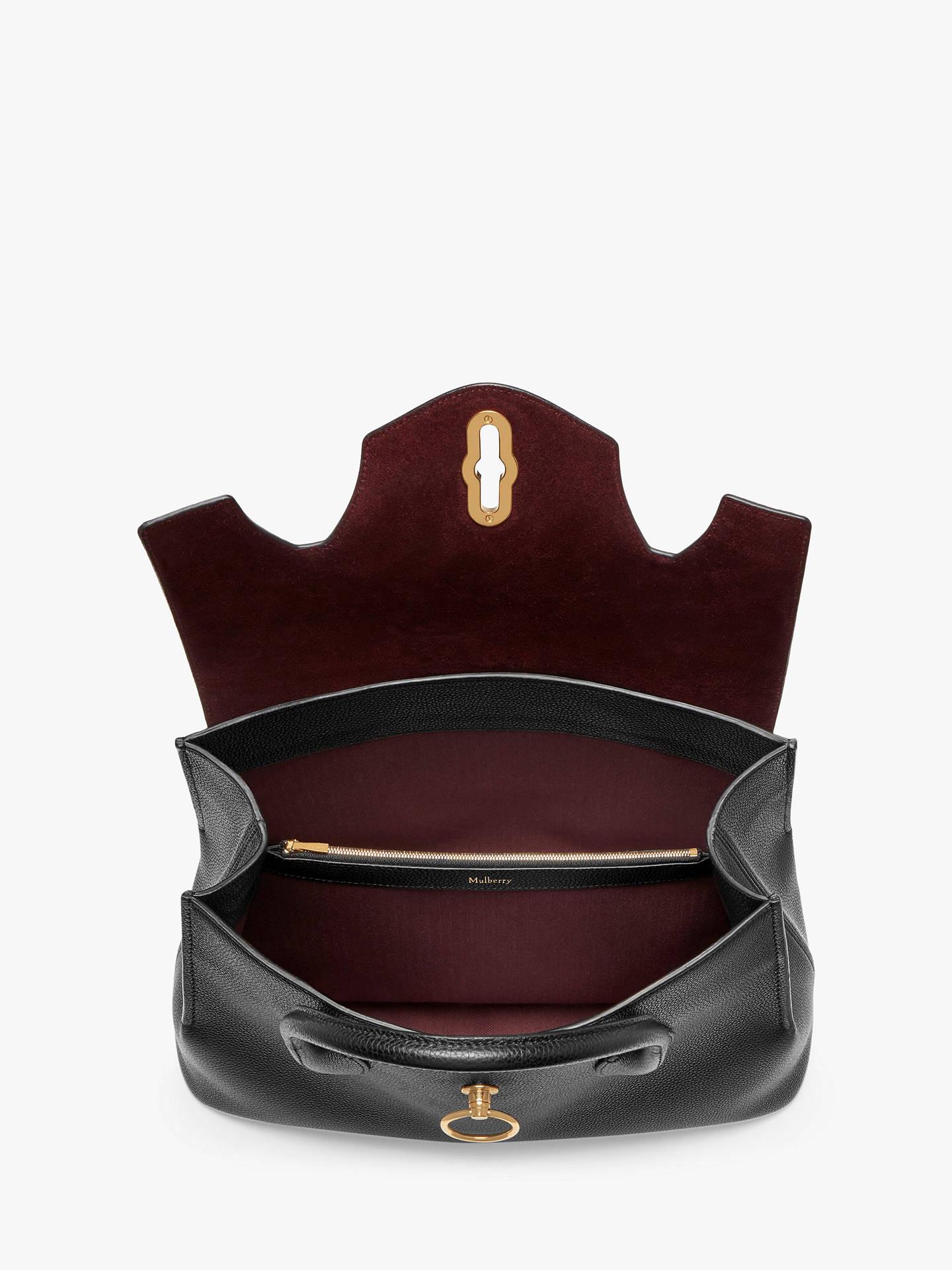 3678a760b025 Mulberry Seaton Classic Grain Leather Handbag at John Lewis   Partners