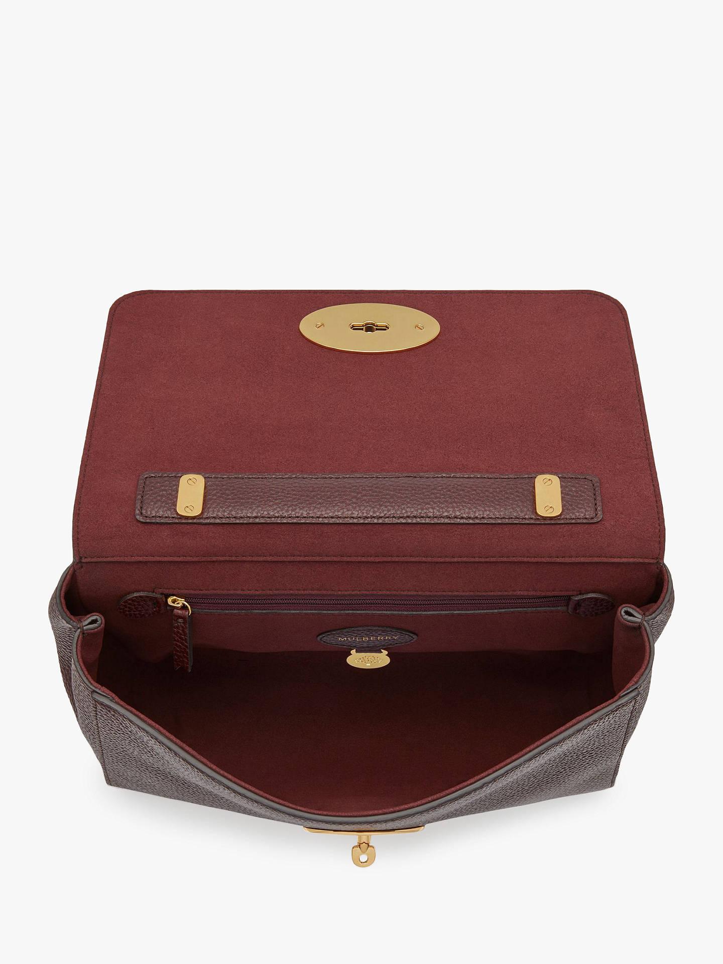 970e58f801cd Mulberry Medium Lily Grain Veg Tanned Leather Shoulder Bag at John ...
