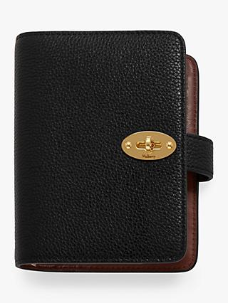 Mulberry Small Classic Grain Leather Postman's Lock Pocket Book