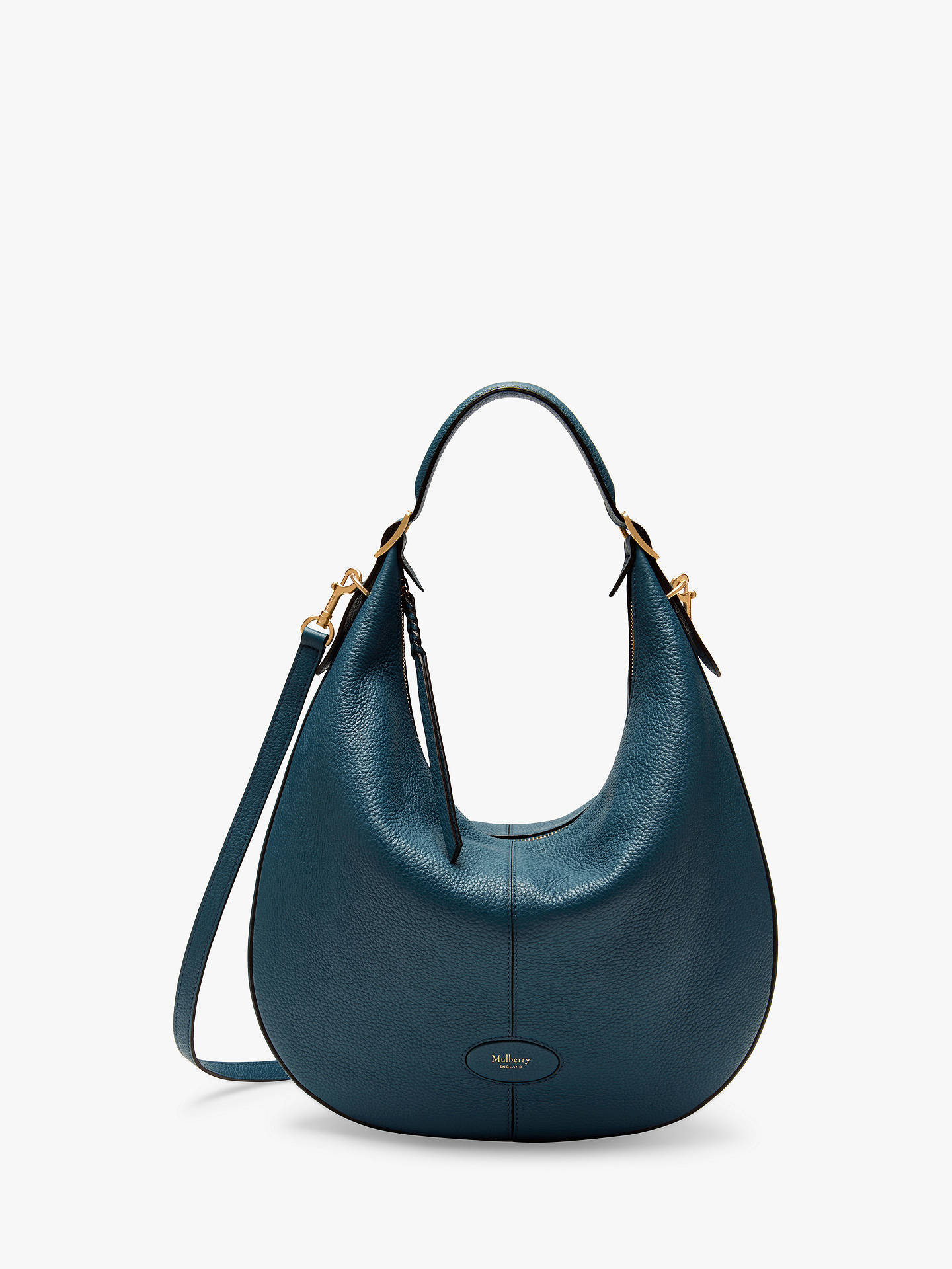 4ea89bd6da Buy Mulberry Small Selby Classic Grain Leather Hobo Bag