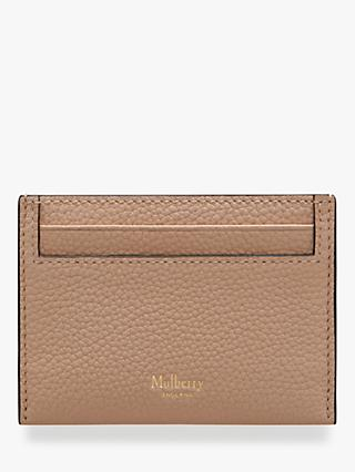 8548d0df5d5c Mulberry Continental Small Classic Grain Leather Credit Card Slip