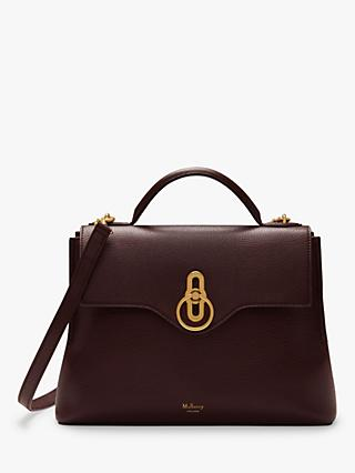 Mulberry Small Seaton Classic Grain Leather Shoulder Bag