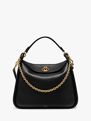Mulberry Leighton Small Classic Grain Leather Shoulder Bag