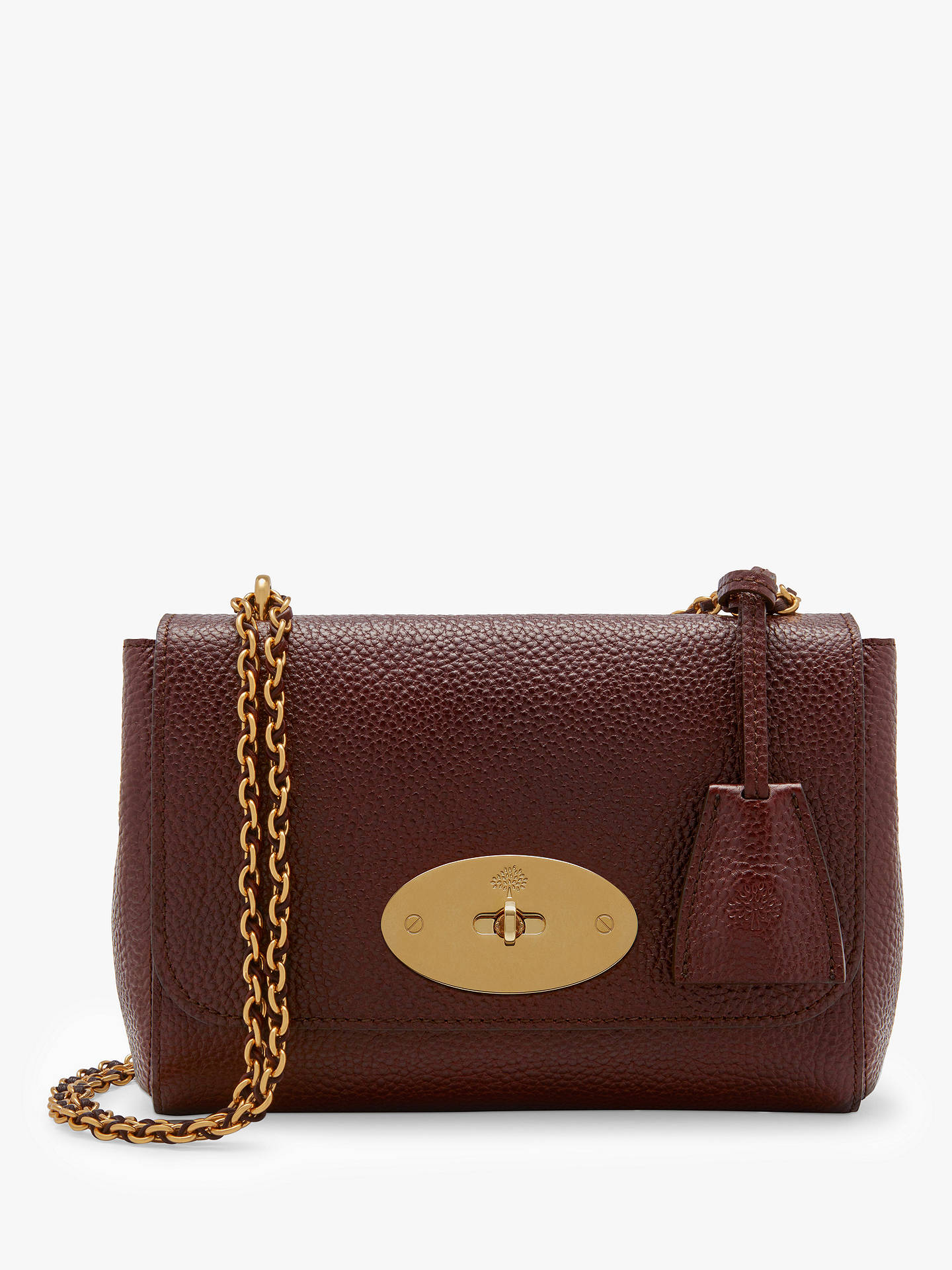 9ae2865b2130 Mulberry Lily Classic Grain Leather Shoulder Bag at John Lewis ...