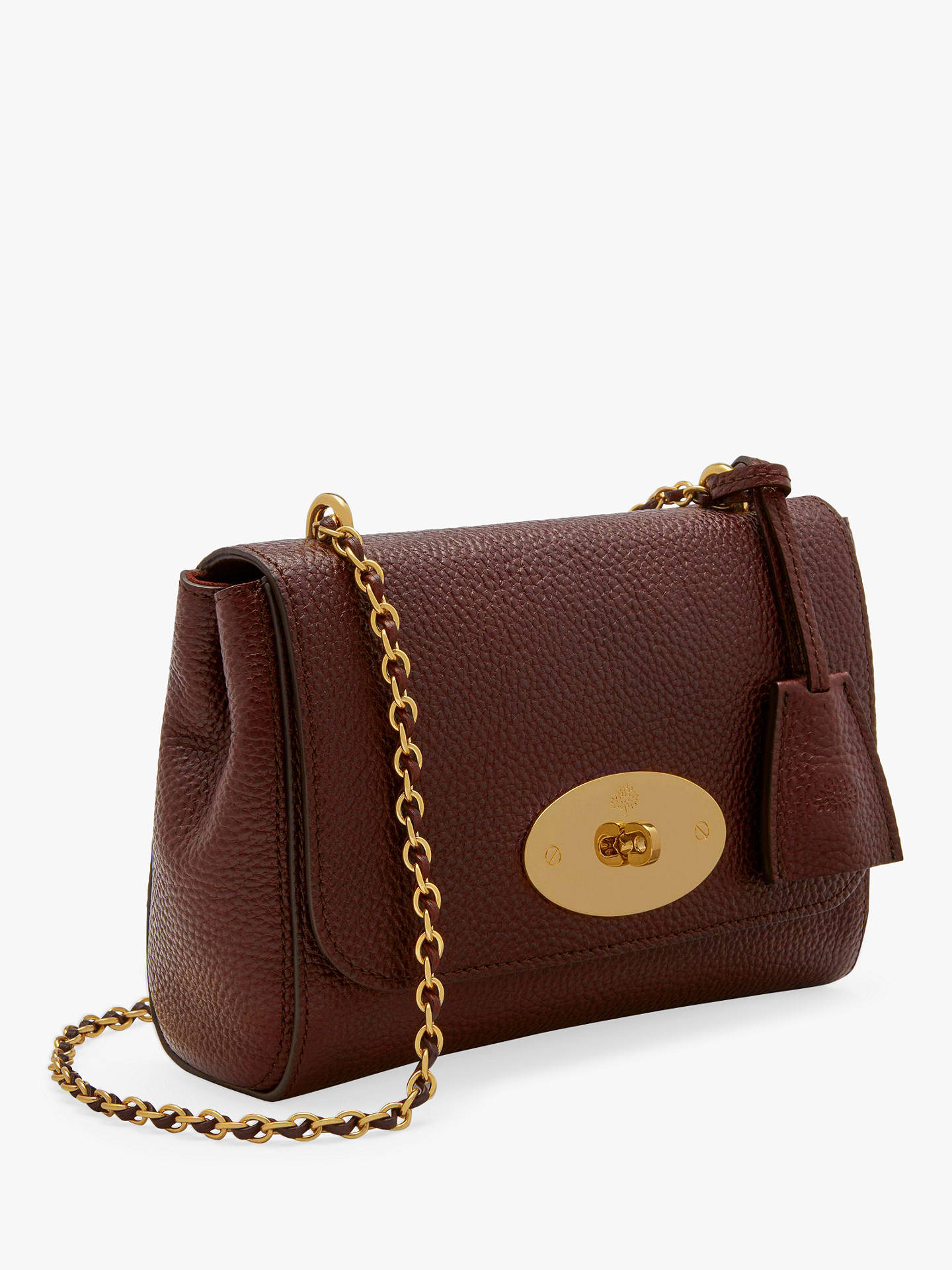a2a55455a413 Mulberry Lily Classic Grain Leather Shoulder Bag at John Lewis ...