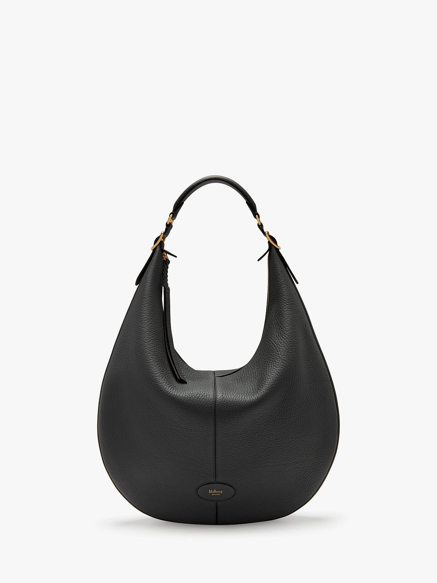 Mulberry Large Selby Classic Grain Leather Hobo Bag at John Lewis ... 414aba4a52288