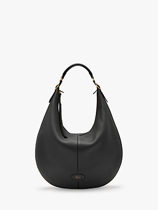 Mulberry Large Selby Classic Grain Leather Hobo Bag