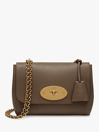 Mulberry Lily Small Classic Grain Leather Cross Body Bag