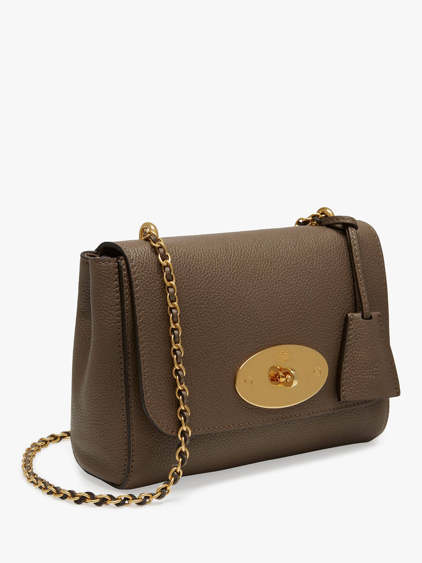 487e7bac68be Mulberry Lily Small Classic Grain Leather Cross Body Bag at John ...