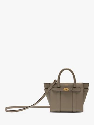18bb0495e178 Mulberry Bayswater Micro Small Classic Grain Leather Handbag