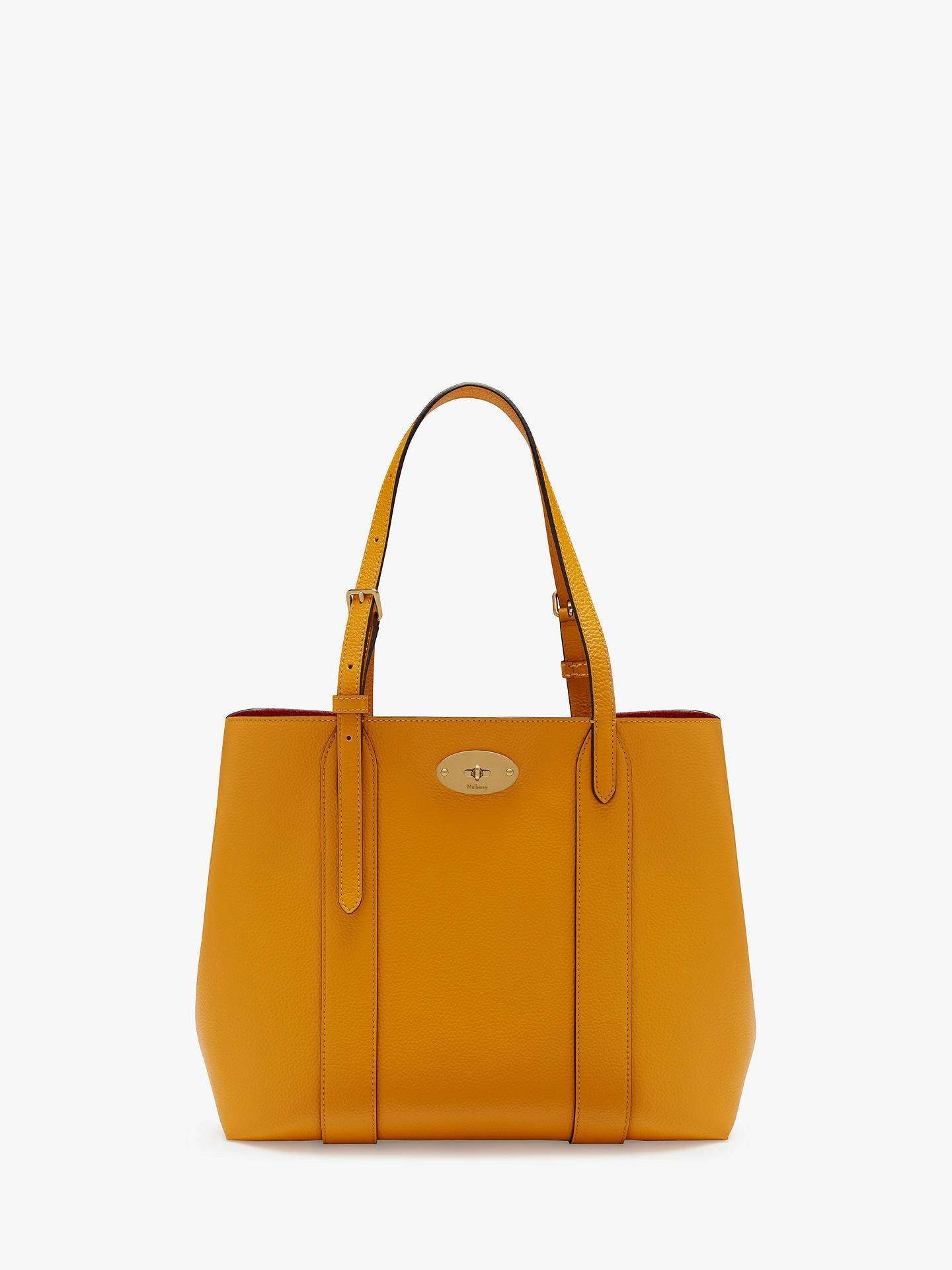 6f1b2d9ef95 Mulberry Small Bayswater Classic Grain Leather Tote Bag at John ...