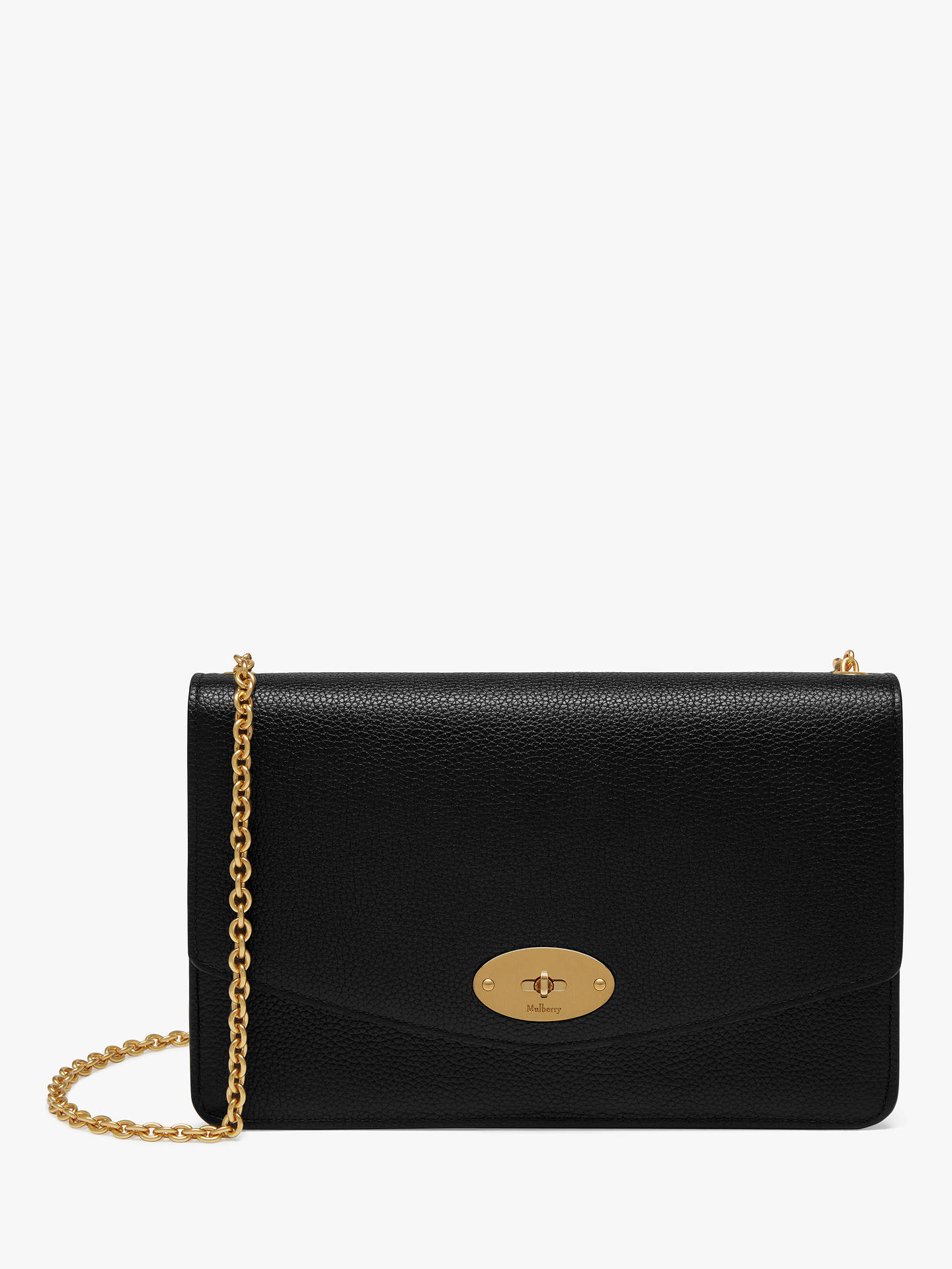 64aafb07a2fd Mulberry Darley Classic Grain Leather Cross Body Bag at John Lewis ...