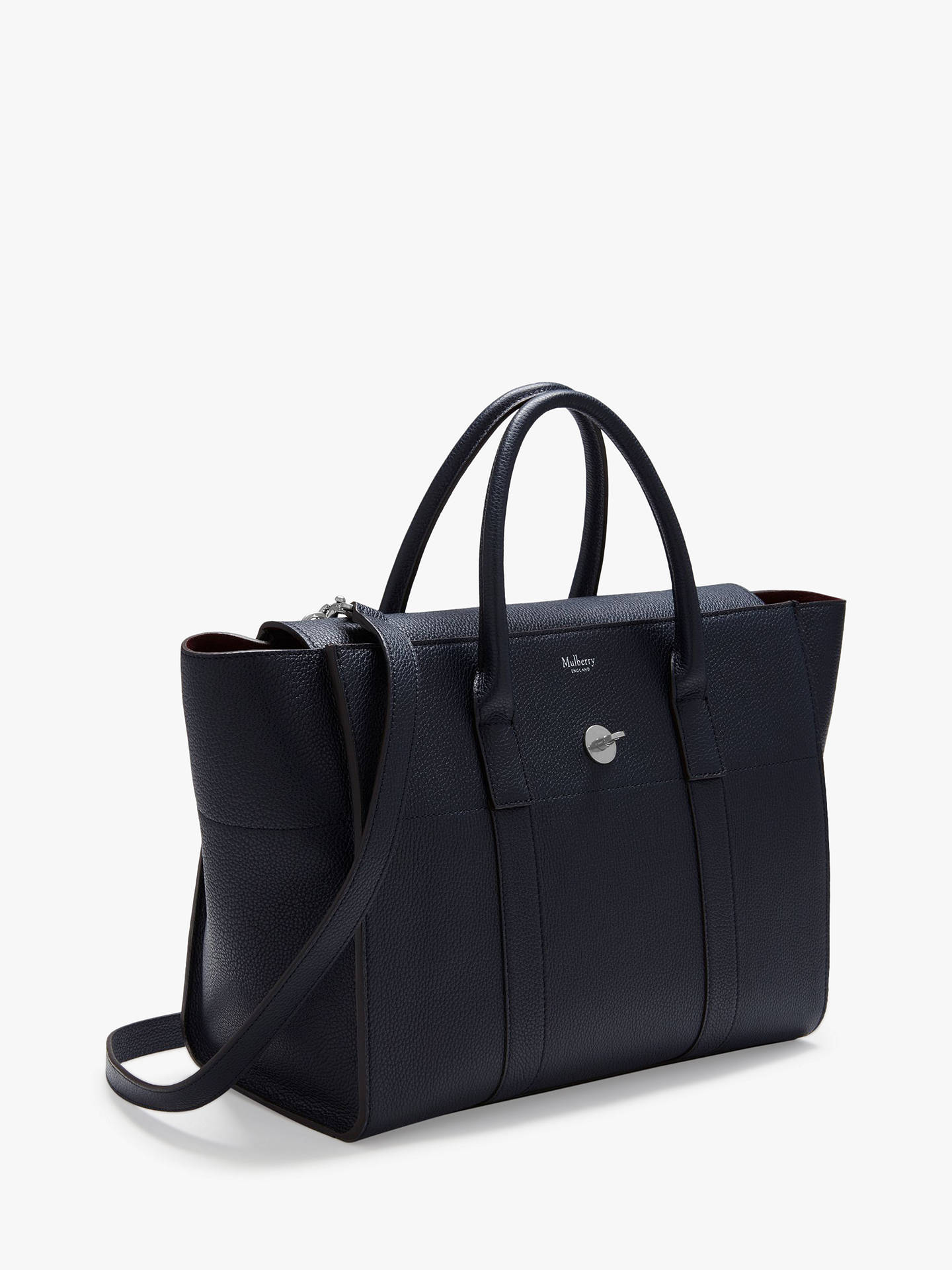 9525a55d35 ... Buy Mulberry Bayswater Small Classic Grain Strap Satchel Bag