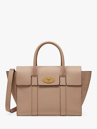 Mulberry Small Bayswater Classic Grain Leather Satchel Bag