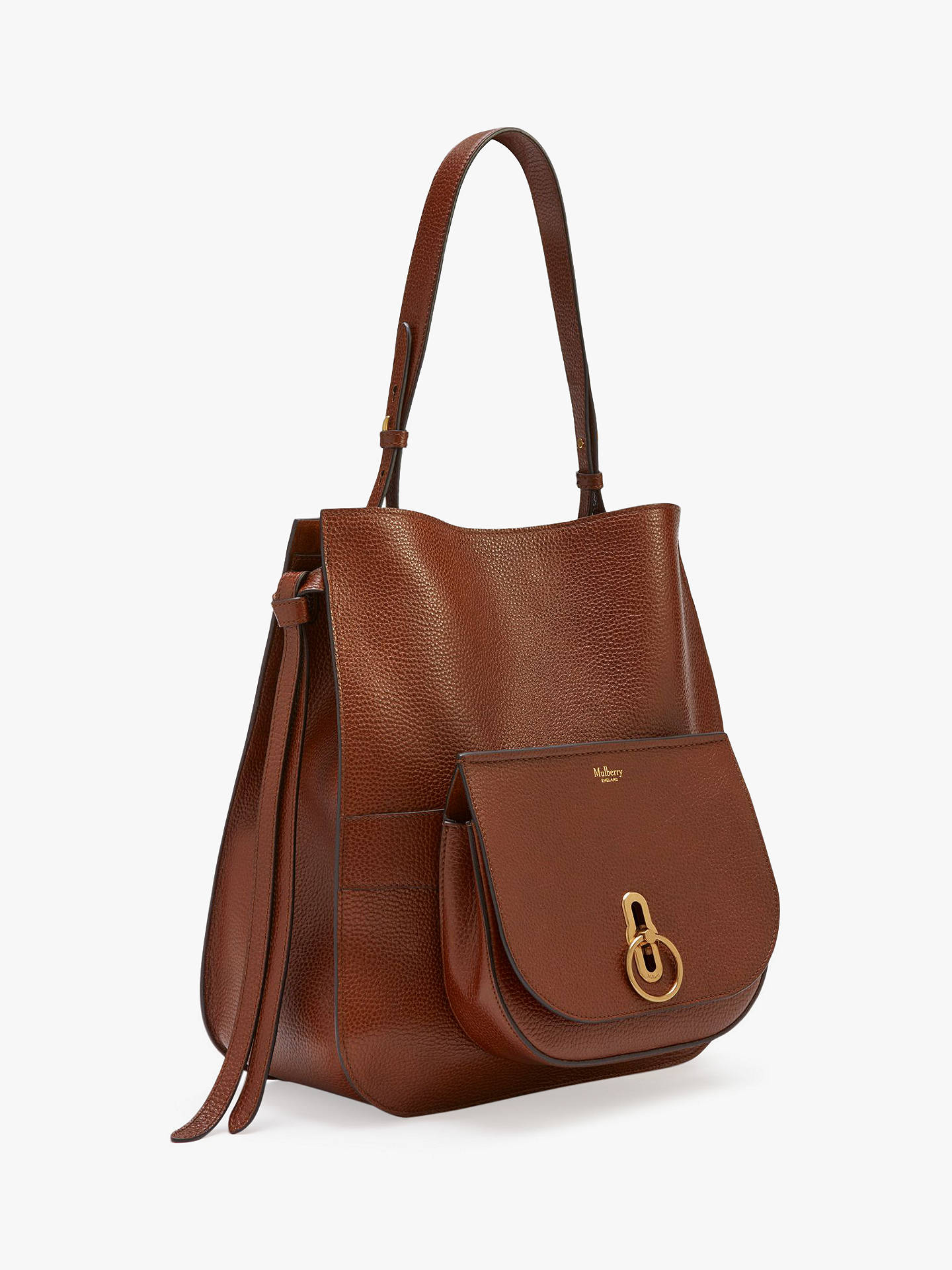 ... BuyMulberry Amberley Grain Veg Tanned Leather Hobo Bag e1792f83c2a3f