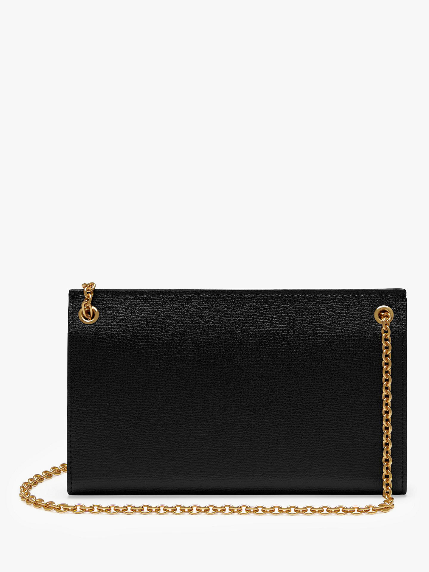 Mulberry Amberley Cross Grain Leather Clutch Bag at John Lewis ... e1edc2a866271