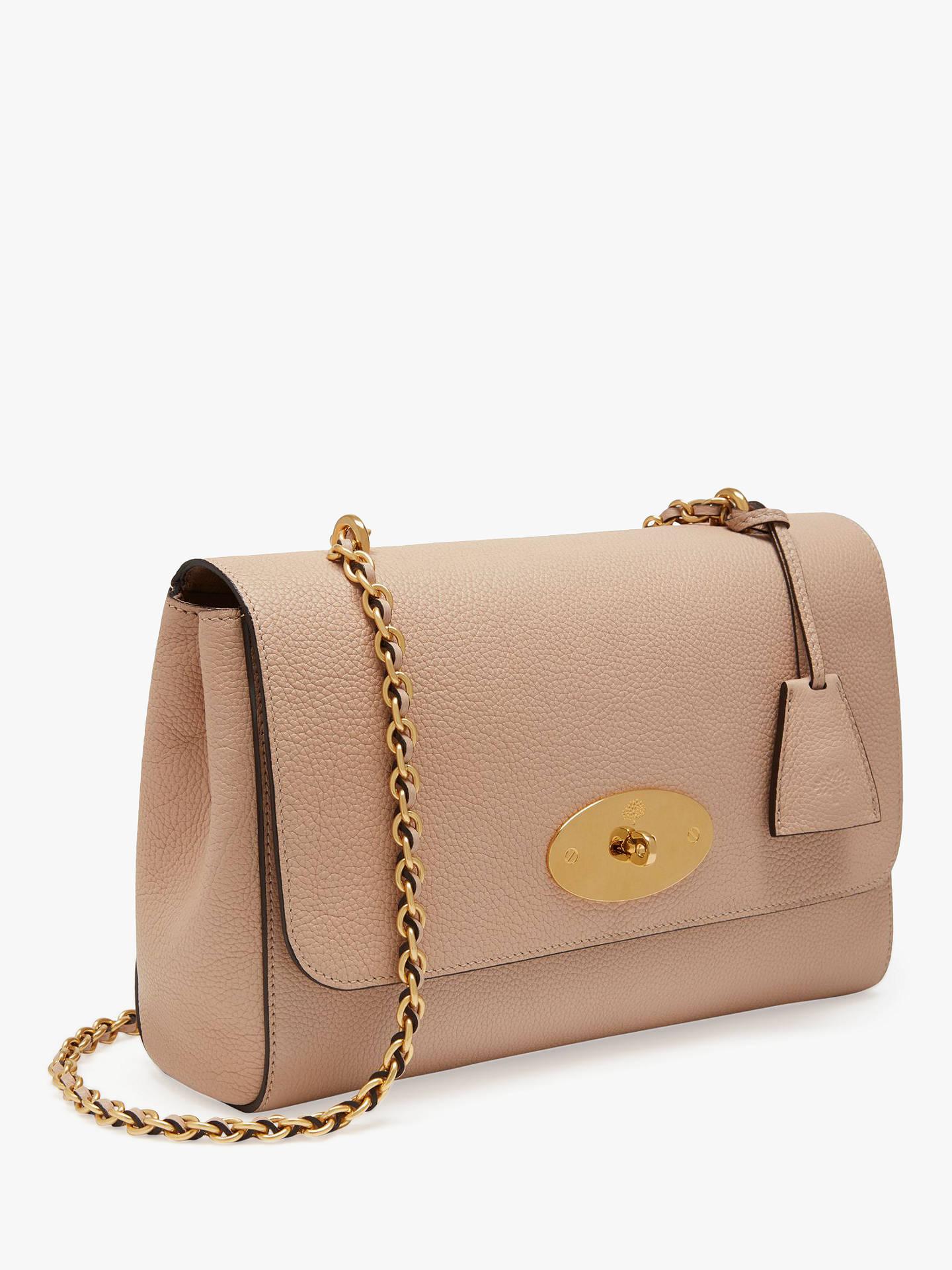 9ebd91ef5452 Mulberry Medium Lily Classic Grain Leather Shoulder Bag at John ...