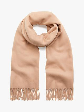 Mulberry Solid Lambswool Scarf