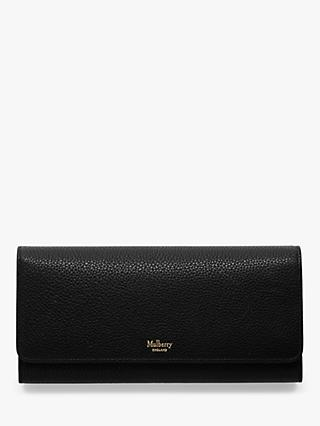 Mulberry Small Classic Grain Leather Continental Wallet