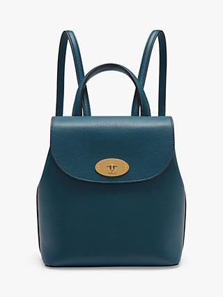 Mulberry Mini Bayswater Small Classic Grain Leather Backpack