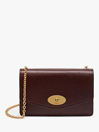 Mulberry Small Darley Grain Veg Tanned Leather Cross Body Bag