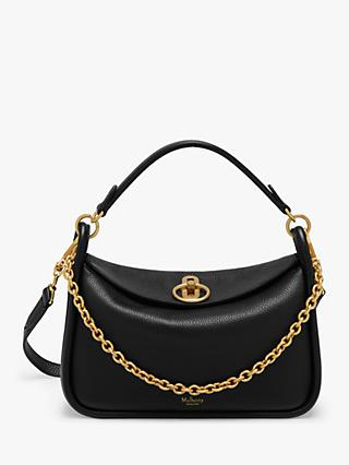 Mulberry Small Leighton Classic Grain Leather Shoulder Bag