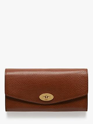 Mulberry Darley Grain Veg Tanned Leather Wallet