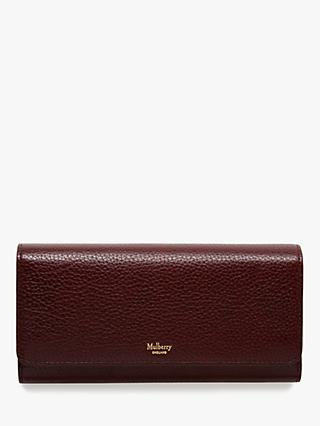 Mulberry Continental Grain Veg Tanned Leather Wallet