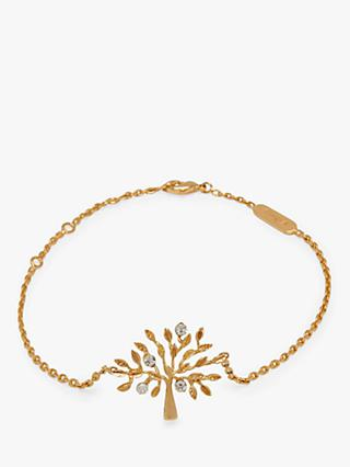 Mulberry Tree Chain Bracelet, Gold