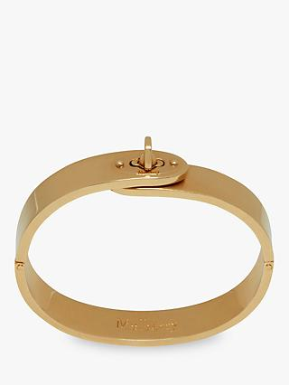 Mulberry Bayswater Slim Metal Bangle, Brass