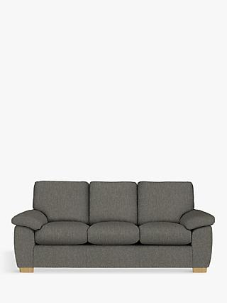 John Lewis & Partners Camden Grand 4 Seater Sofa, Light Leg